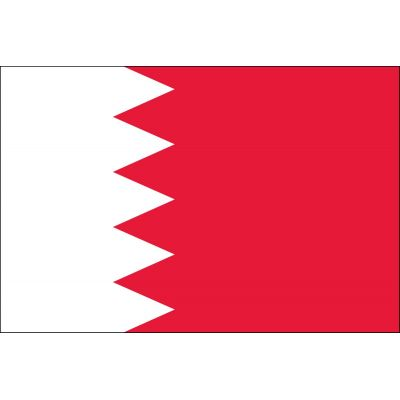 4ft. x 6ft. Bahrain Flag for Parades & Display
