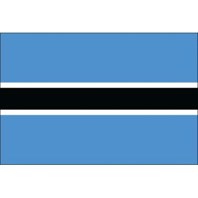 3ft. x 5ft. Botswana Flag for Parades & Display