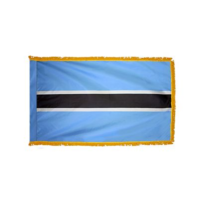 3ft. x 5ft. Botswana Flag for Parades & Display with Fringe