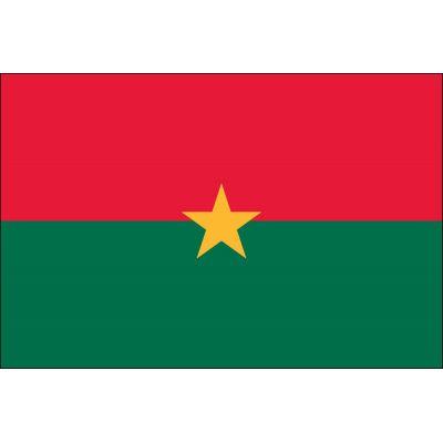 4ft. x 6ft. Burkina Faso Flag for Parades & Display