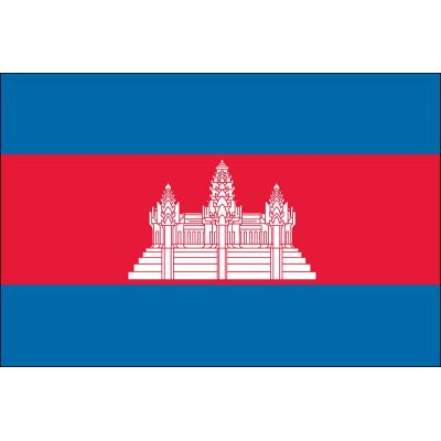 3ft. x 5ft. Cambodia Flag for Parades & Display