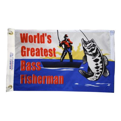 Bass Fisherman Flag
