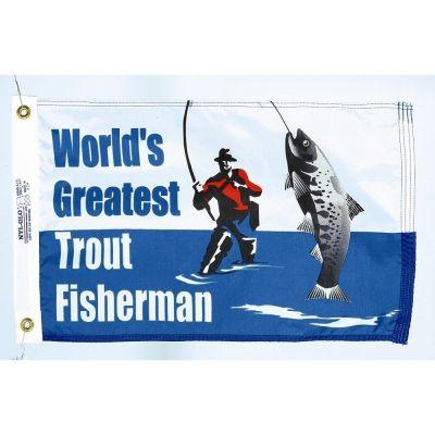 Trout Fisherman Flag