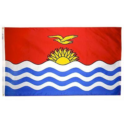4ft. x 6ft. Kiribati Flag with Brass Grommets