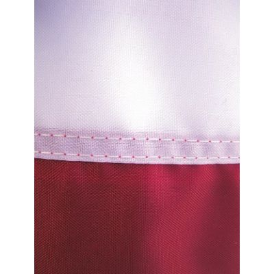 Seams on a Poly Weave Flag