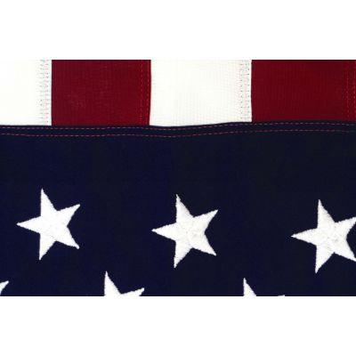 Cotton US Flag Detail Canton & Strips
