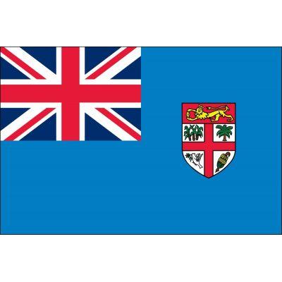 4ft. x 6ft. Fiji Flag for Parades & Display