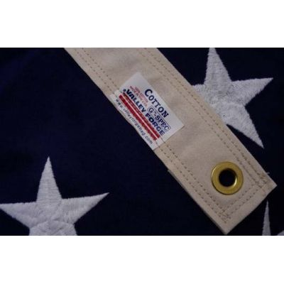 US Cotton Flag Embroidered Star