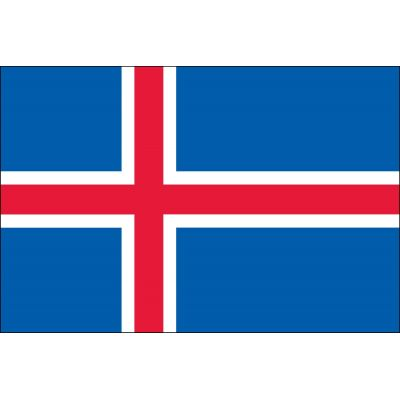 4ft. x 6ft. Iceland Flag for Parades & Display