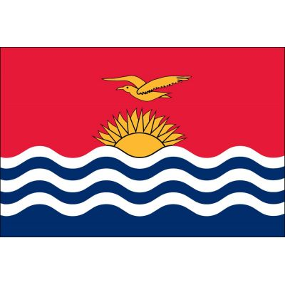 4ft. x 6ft. Kiribati Flag for Parades & Display
