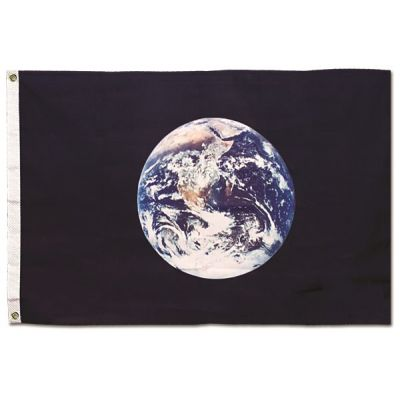 3 ft. x 5 ft. Earth Flag
