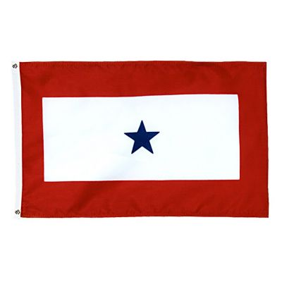 3 ft. x 5 ft. 1 Star Service Flag