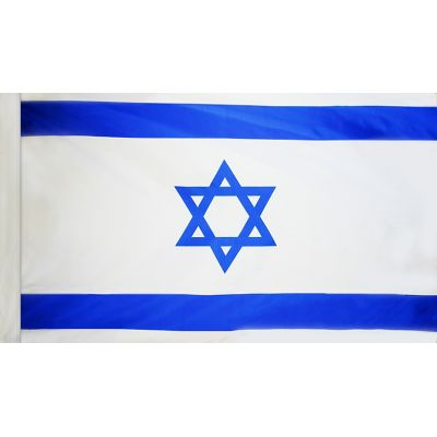 3ft. x 5ft. Israel Flag for Parades & Display