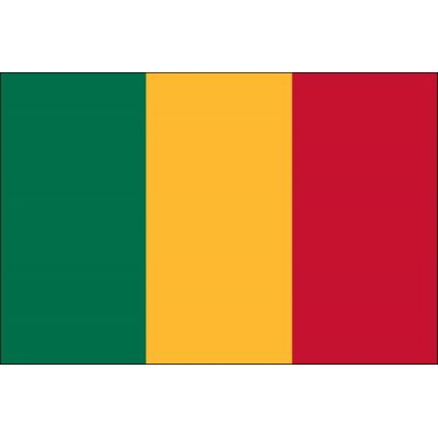 3ft. x 5ft. Mali Flag for Parades & Display