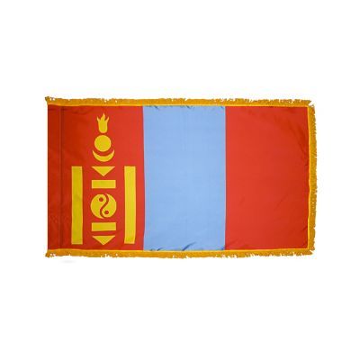 3ft. x 5ft. Mongolia Flag for Parades & Display with Fringe