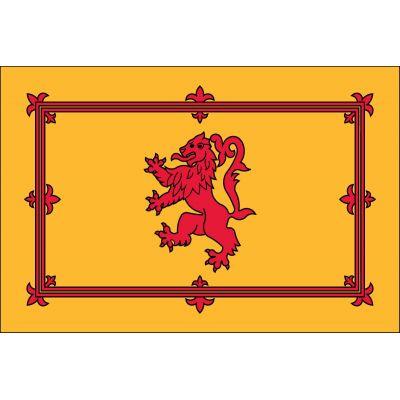 3ft. x 5ft. Scottish Rampant Lion Flag for Parades & Display