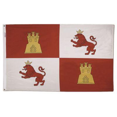 3 ft. x 5 ft. Lions & Castles Flag