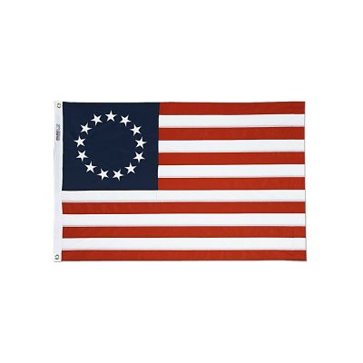 2 ft. x 3 ft. Betsy Ross Flag Nylon Embroidered Star