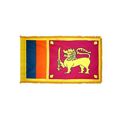 4ft. x 6ft. Sri Lanka Flag for Parades & Display with Fringe