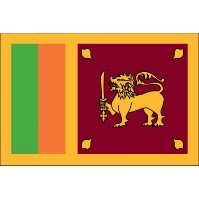 4ft. x 6ft. Sri Lanka Flag for Parades & Display