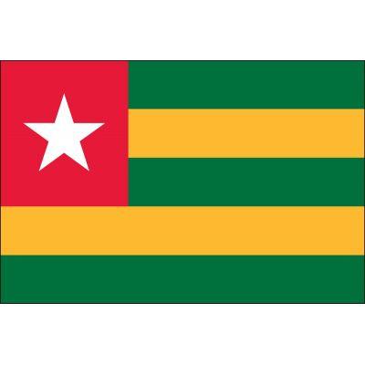 3ft. x 5ft. Togo Flag for Parades & Display