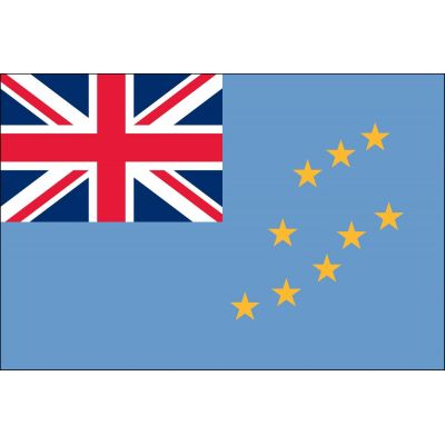 3ft. x 5ft. Tuvalu Flag for Parades & Display