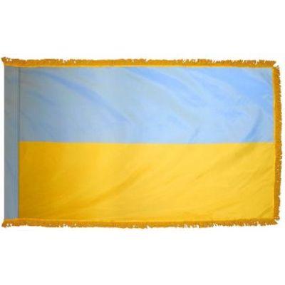 4ft. x 6ft. Ukraine Flag for Parades & Display with Fringe