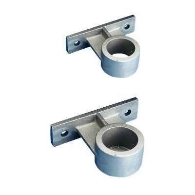 5 in. Pole Dia. Vertical Wall Mount Brackets Only