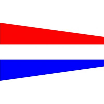 Size 6 Formation Signal Pennant with Line Snap and Ring