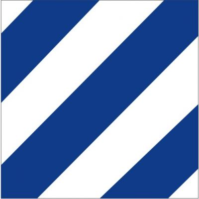 Size 8 Number 6 Signal Flag with Line Snap and Ring