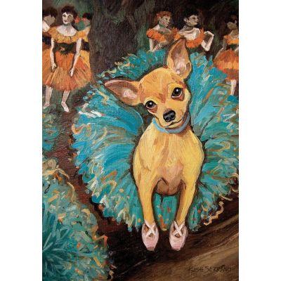 Dogas-Chihuahua House Flag