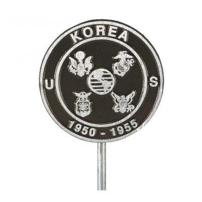 Korean War Veteran Memorial Marker Aluminum