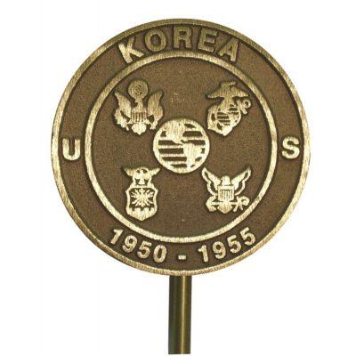 Korean War Veteran Memorial Marker Bronze