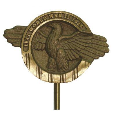 World War II Veteran Memorial Marker Bronze