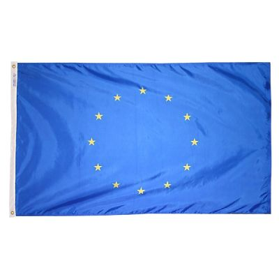 4ft. x 6ft. European Union Flag with Brass Grommets