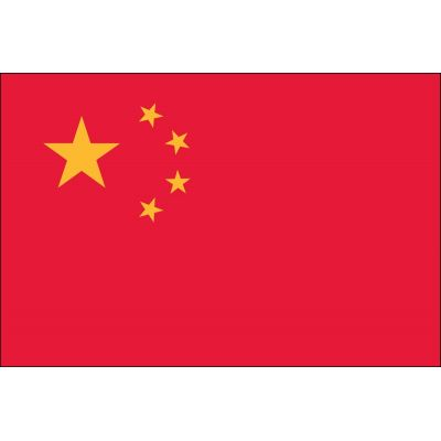 3ft. x 5ft. China Flag for Parades & Display