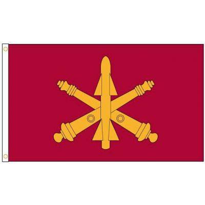 3 ft. x 5 ft. Air Defense Artillery Flag Outdoor Use