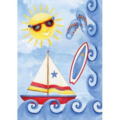 Surf 'n Sail House Flag