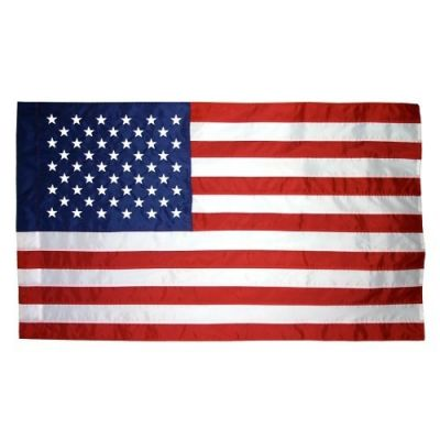 US Flag with Pole Sleeve
