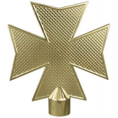 Metal Maltese Cross