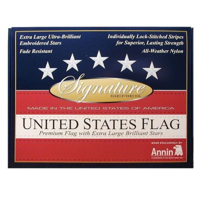 Packaging of Signature Flag