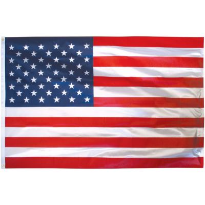 16 in. x 24 in. US Flag Outdoor Nylon Dyed