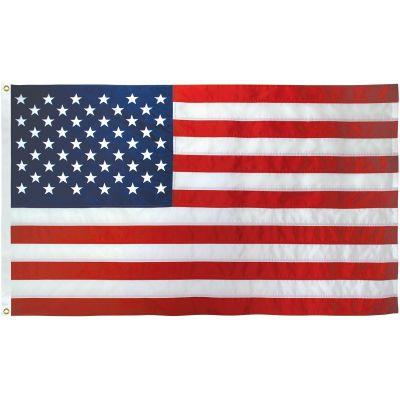 5ft. x 9-1/2ft. US Flag Nylon Heading & Grommets