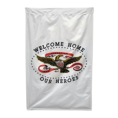 28 x 30 in. Welcome Home Hero Banner