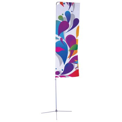 Banner Hardware with Cross Base