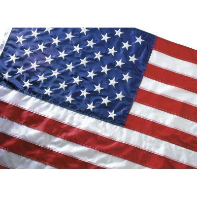 4 ft. x 6 ft. Eco-Glory US Flag Heading & Grommets