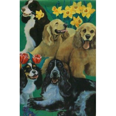 Dog's Decorative House Banner
