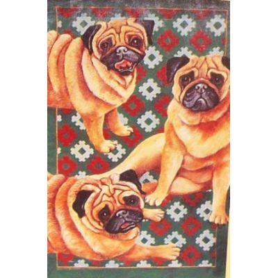 Pug Pals Decorative House Banner