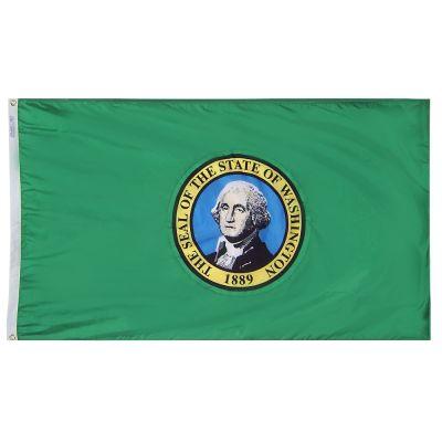 12 x 18 in. Washington flag