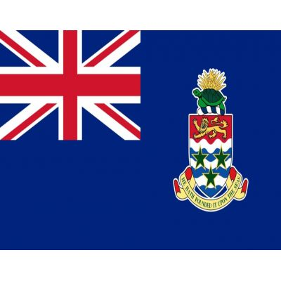 4ft. x 6ft. Cayman Islands Blue Flag with Brass Grommets